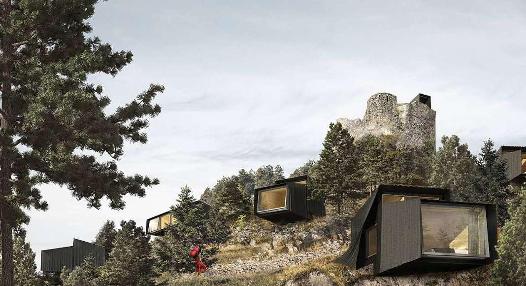 Mención de Honor Equipo STAGE architects, Reino Unido : Proyecto © Bogdan Rusu, Anamaria Pircu, Jozsef Balint