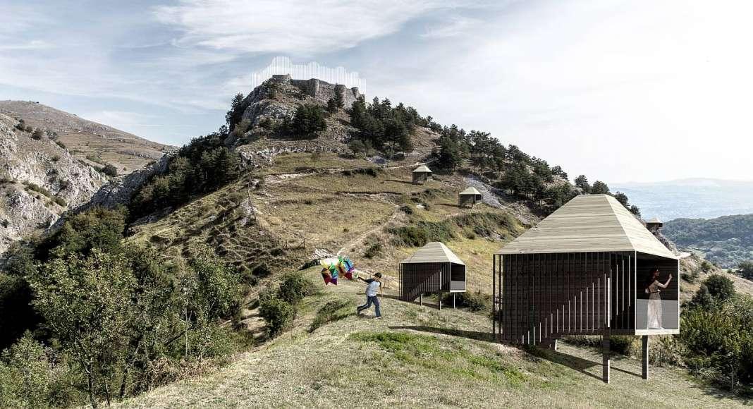 Mención de Honor Equipo orma, Italia : Proyecto © Massimiliano Alberto Ravidà, Silvia Morucci