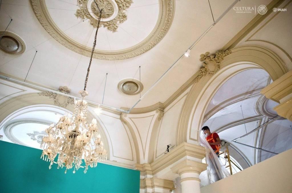 Concluye tercera etapa del proyecto de restauración en el Palacio Cantón de Yucatán : Foto © Museo Palacio Cantón-INAH