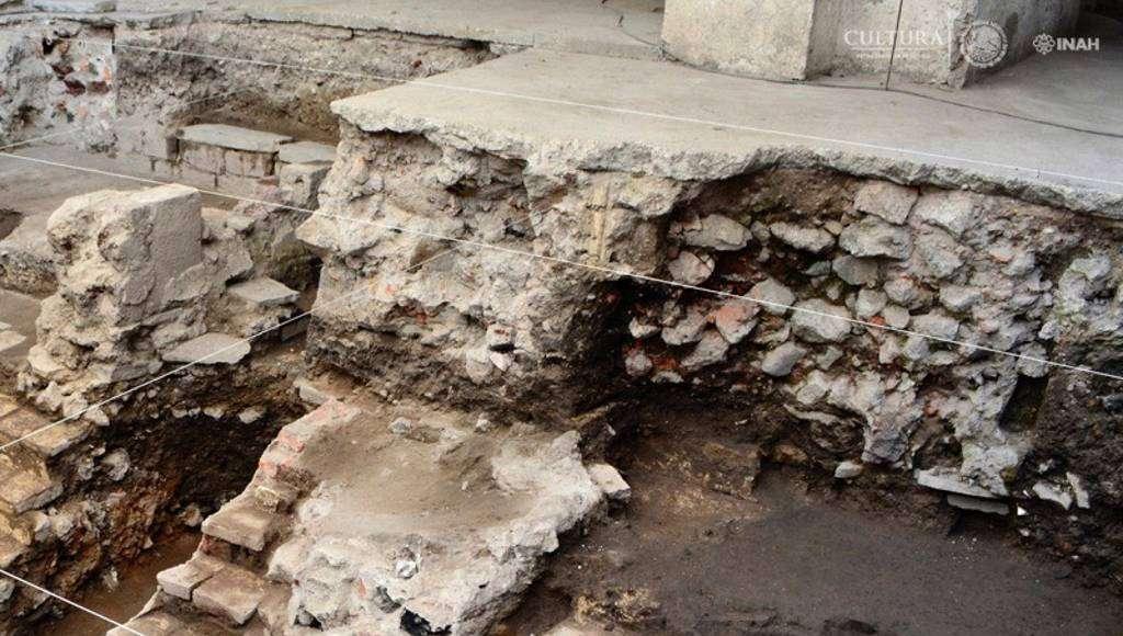 Arqueólogos del PAU, localizaron los restos de la principal cancha de Juego de Pelota de Tenochtitlan : Foto © PAU-INAH