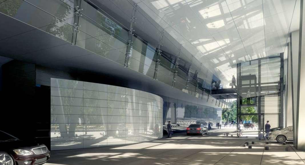 Vista Interior del Lobby del desarrollo Chapultepec Uno : Fotografía © Chapultepec Uno