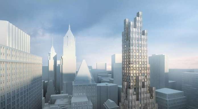New(er) York - One Wall Street : Render © Hollwich Kushner