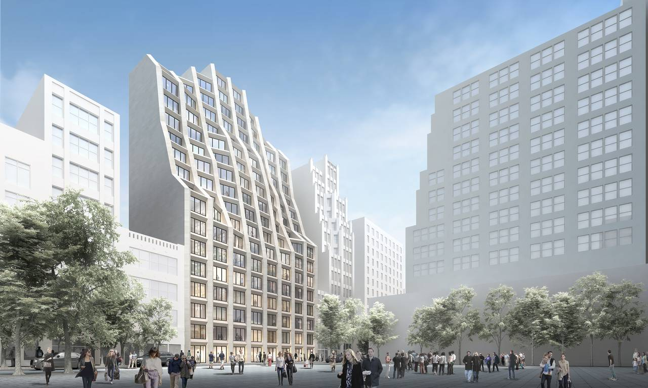 New(er) York - 214 West 29th Street : Render © Hollwich Kushner
