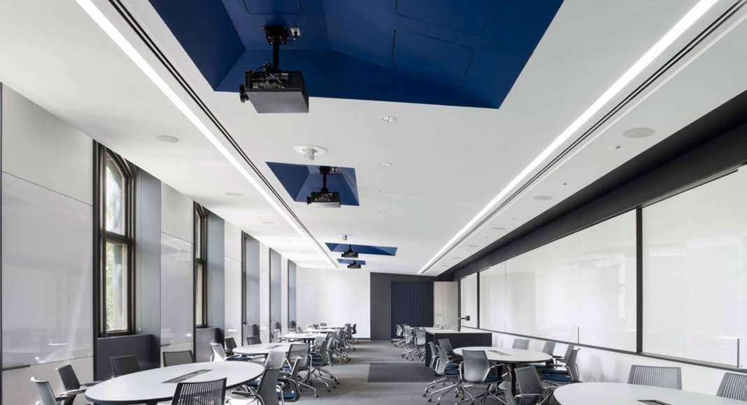 BQDA Local Firm/Beyond BQDA/International People's Choice Award - Univertisty of Pennsylvania School of Engineering and Applied Sciences Forman Active Learning Classrooms - Studio Modh Architecture (Philadelphia, PA) : Photo © modh