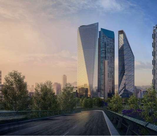 Perspectiva Urbana del desarrollo Chapultepec Uno : Fotografía © Chapultepec Uno