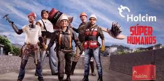 """Campaña """"Súper Humanos"""" de Holcim México : Fotografía © Holcim México"""