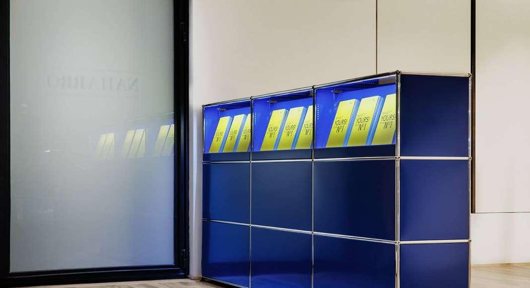 Exposición de USM en la Galería Naharro de Madrid - USM Haller E : Fotografía © Germán Saiz