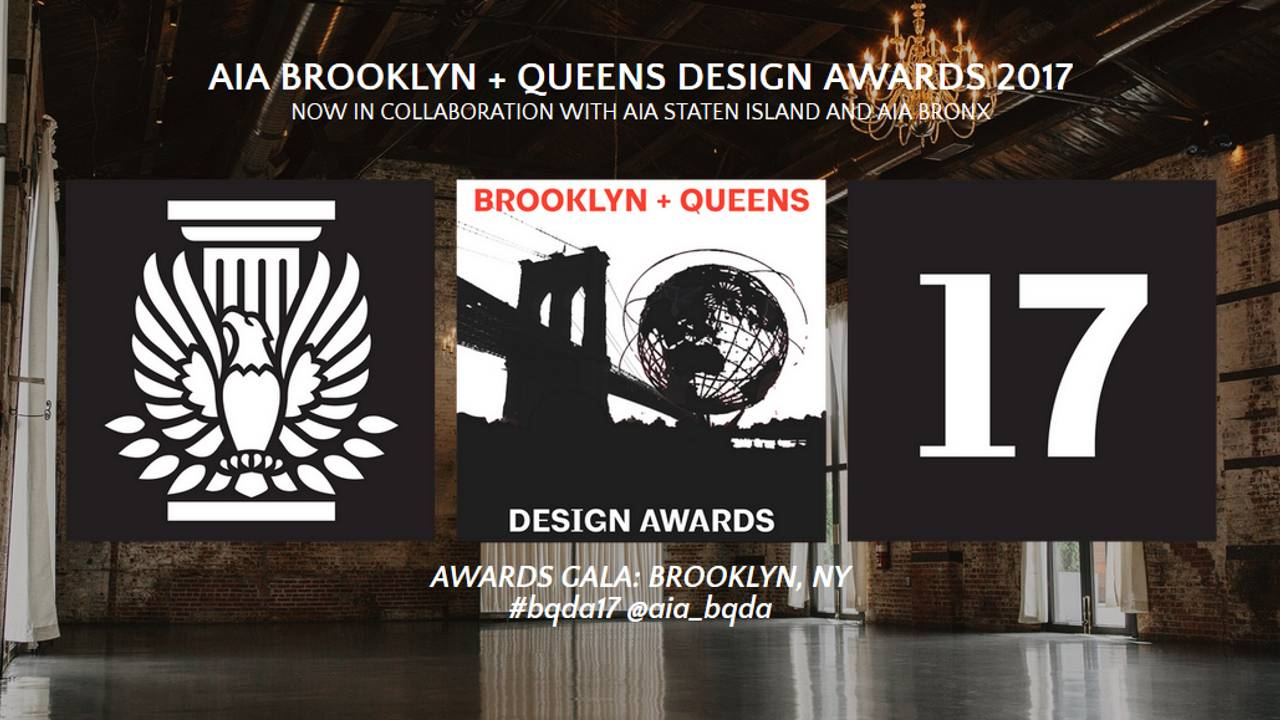Premios AIA Brooklyn + Queens Design Awards 2017