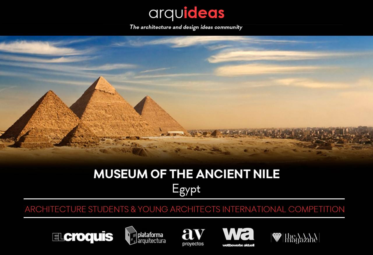 Concurso Museum of the Ancient Nile (MoAN Egypt) : Cartel © Arquideas