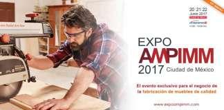Expo AMPIMM 2017 : Fotografía © Asociación Mexicana de Proveedores de la Industria Maderera y Mueblera A.C.