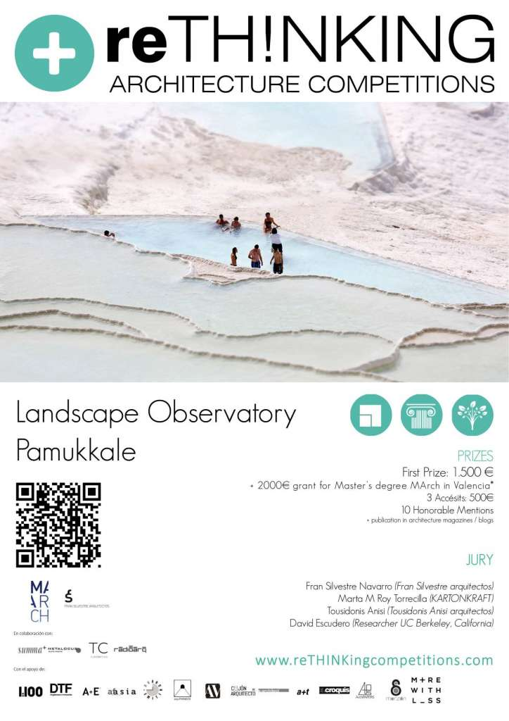 Concurso Pamukkale Landscape Obervatory : Poster © ReTHINKING Architecture Competitions
