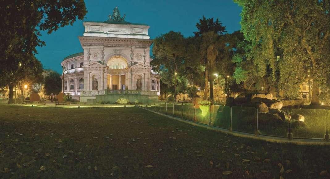 Casa dell'Architettura di Roma : Photo © Itinerant Office
