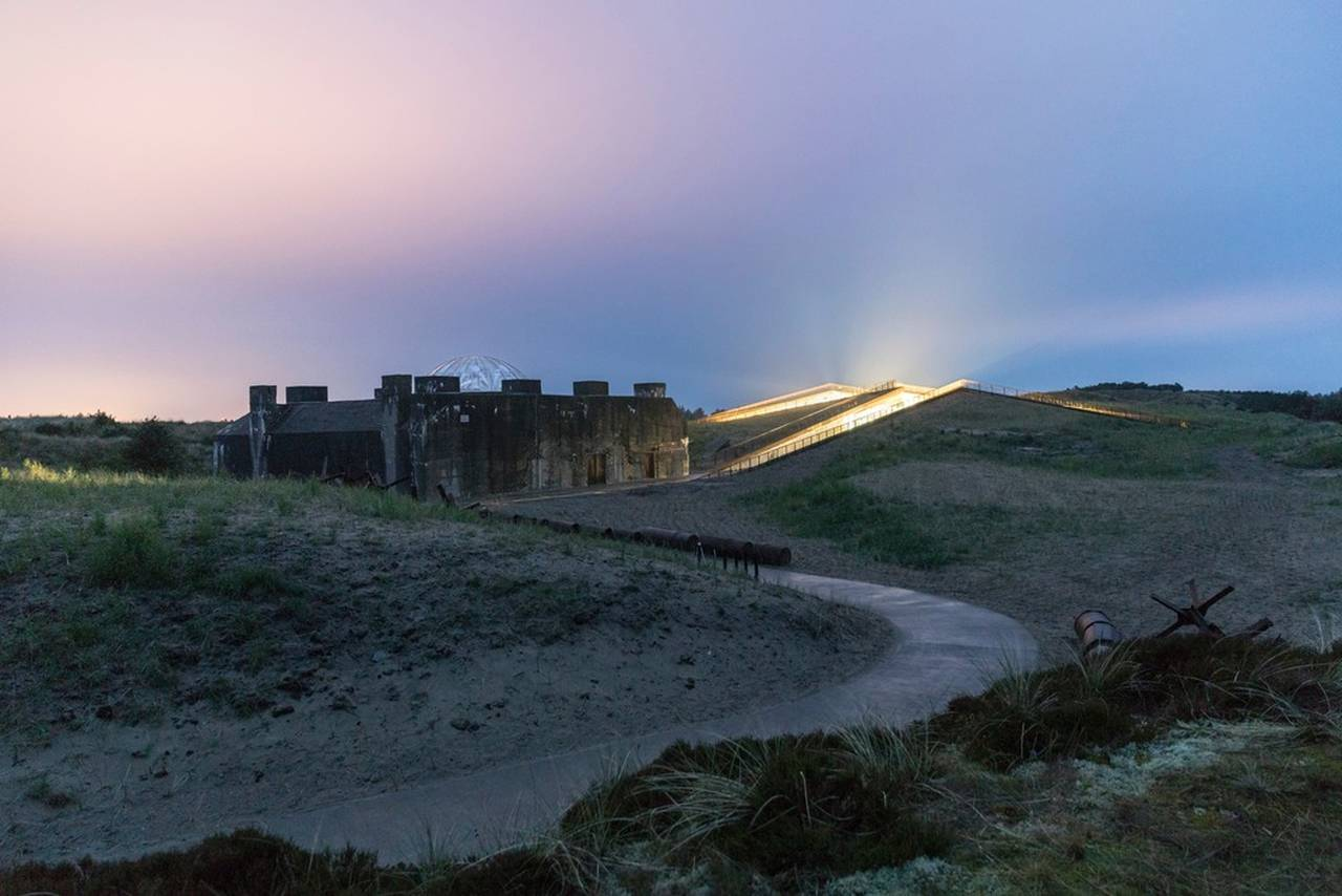 TIRPITZ – a sanctuary in the sand that acts as a gentle counterbalance to the dramatic war history of the site in Blåvand on the west coast of Denmark : Photo credit © Laurian Ghinitoiu