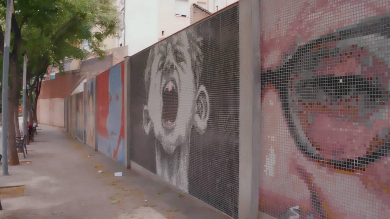 El mosaico de mi barrio : Fotografía © Barcelona Cultura