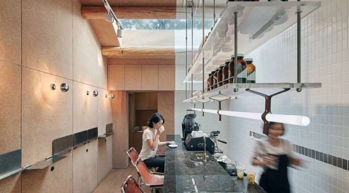 Bars & Restaurants Category - Big Small Coffee and Guestroom by Office AIO : Photo courtesy of © INSIDE: World Festival of Interiors
