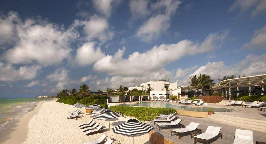 Mayakoba Rosewood Resort Beach : Fotografía © Mayakoba Resort