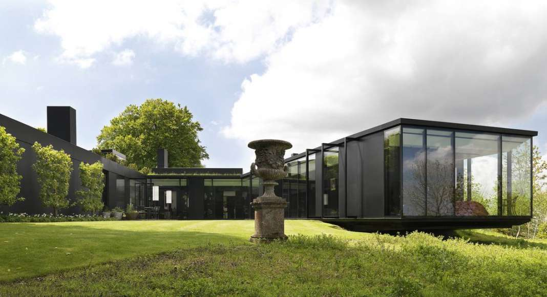"Premio Internacional Dedarlo Minosse 2017 ALA Fondazione Inarcassa - ""The Bluff"" Villa en las Chilterns : Photos courtesy of © Premio Internacional Dedarlo Minosse"