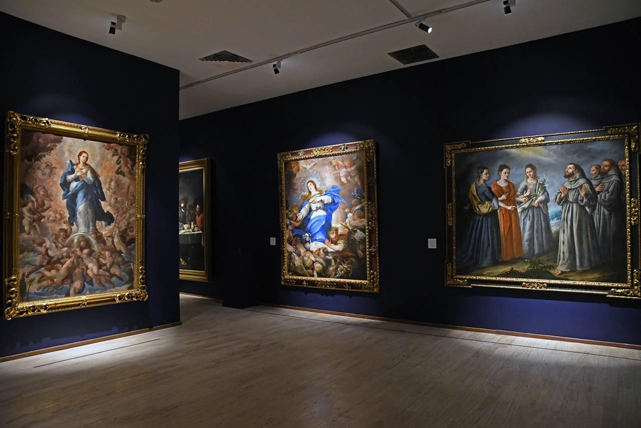 Del Pontormo a Murillo. Entre lo sagrado y lo profano en el Museo Nacional de San Carlos : Fotografía © FSM / Conaculta