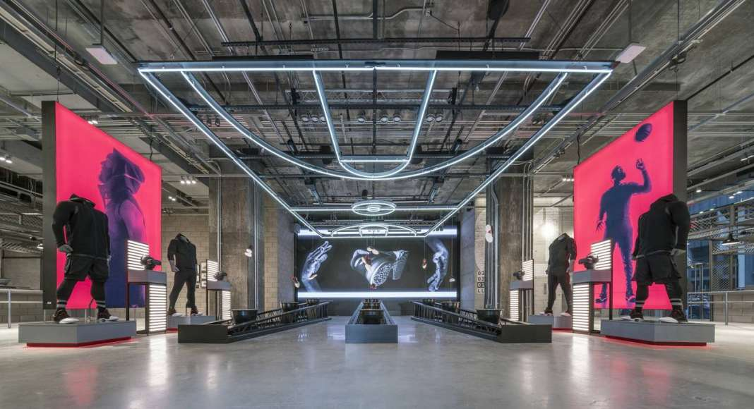 Retail - adidas NYC by adidas with Checkland Kindleysides and Gensler : Photo courtesy of © INSIDE: World Festival of Interiors