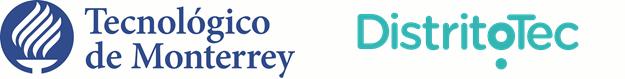 Logo © DistritoTec y © Tecnológico de Monterrey