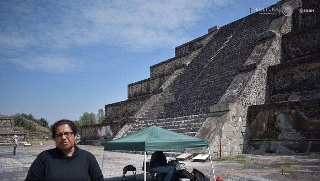 Los teotihuacanos reprodujeron el mismo patrón de túneles asociados a sus grandes edificaciones : Foto © Melitón Tapia, INAH