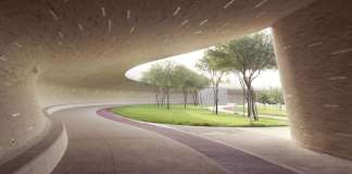Covered Walkway - Lower Park Level : Photo credit © Markus Elblaus