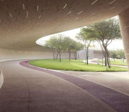 Covered Walkway - Lower Park Level : Photo credit © Markus Elblaus