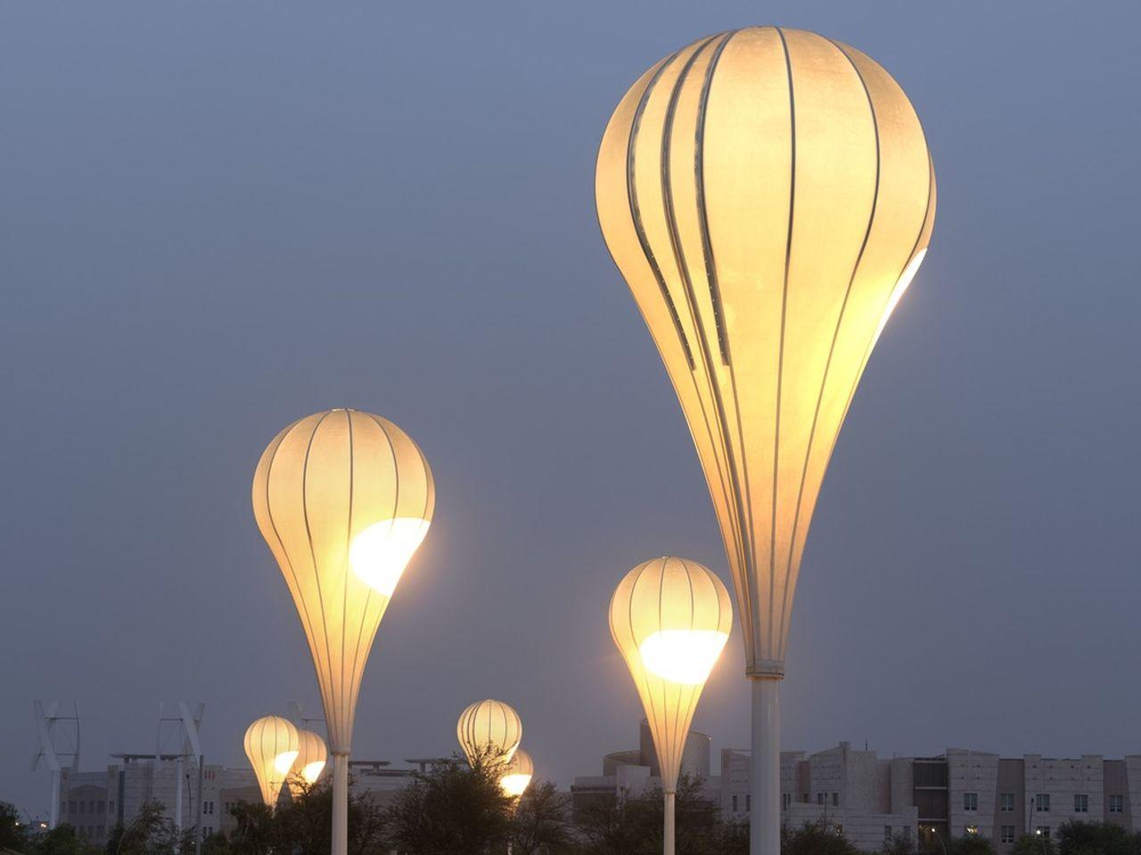 Balloon Lights : Photo credit © Markus Elblaus
