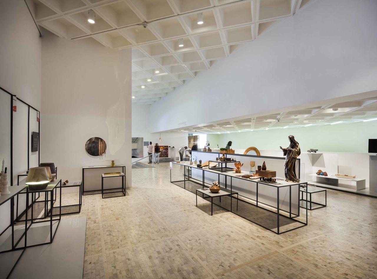 Vision y Tradicion exhibition 2016, Museo Tamayo : Photo credit © Design Week Mexico