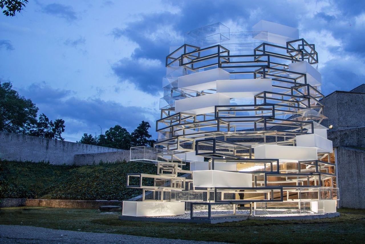 Architectural Pavilio DWM Tamayo 2016, Nikolaus Hirsch / Michel Müller : Photo credit © Nikolaus Hirsch / Michel Müller