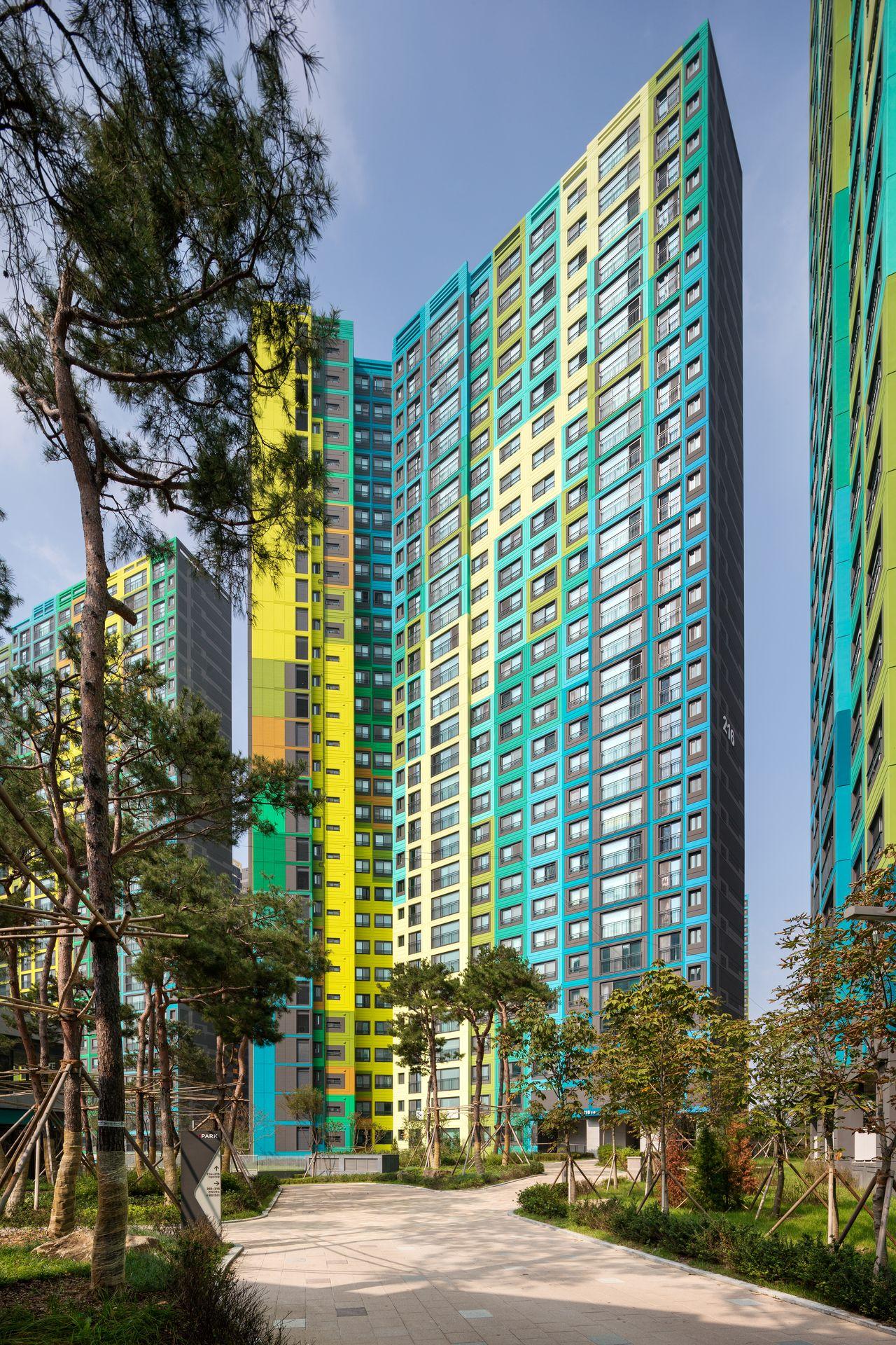 Block 2 IPARK, Daegu, by UNStudio : Photo © Rohspace