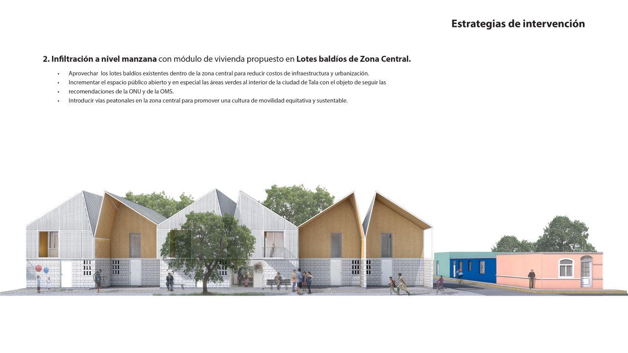 Vivienda Tala Estrategias de Intervención 2 : Imágen © ZD+A e © Iñaki Echeverría