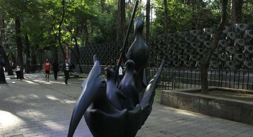 """Exposición """"Onirismo en Bronce, Leonora Carrington"""" : Fotografía © Gobierno de la CDMX"""