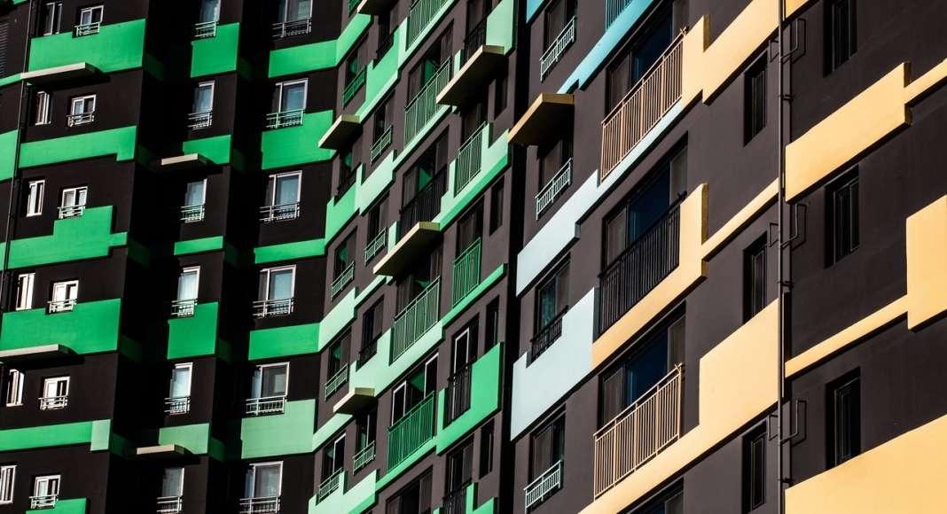 Facade Detail IPARK, Daegu, Block 1 by UNStudio : Photo © Edmon Leong