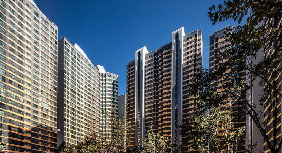 Perspective View IPARK, Daegu, Block 1 by UNStudio : Photo © Edmon Leong