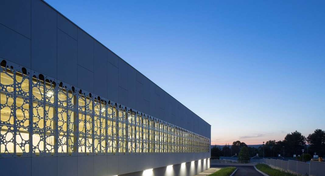 View of the north facade : Photo credit ©photoarchitecture.com