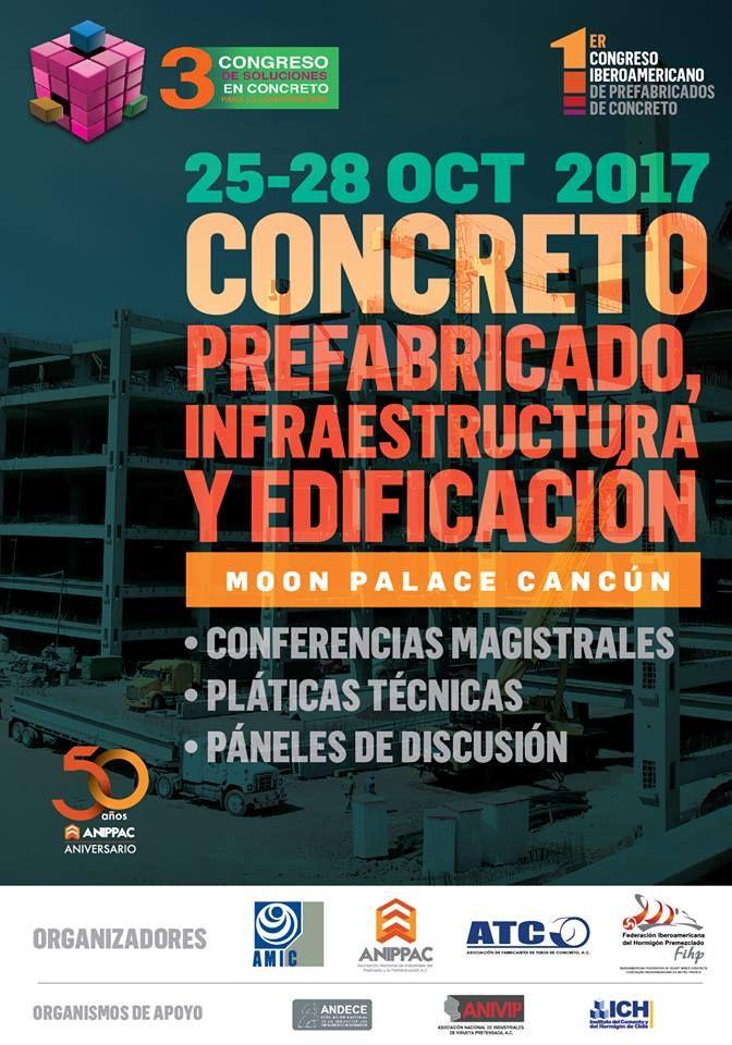 Tercer Congreso de Soluciones en Concreto AMIC : Poster © AMIC