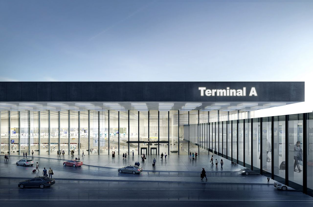 Amsterdam Airport Schiphol Terminal by KAAN Architecten : Photo © Filippo Bolognese