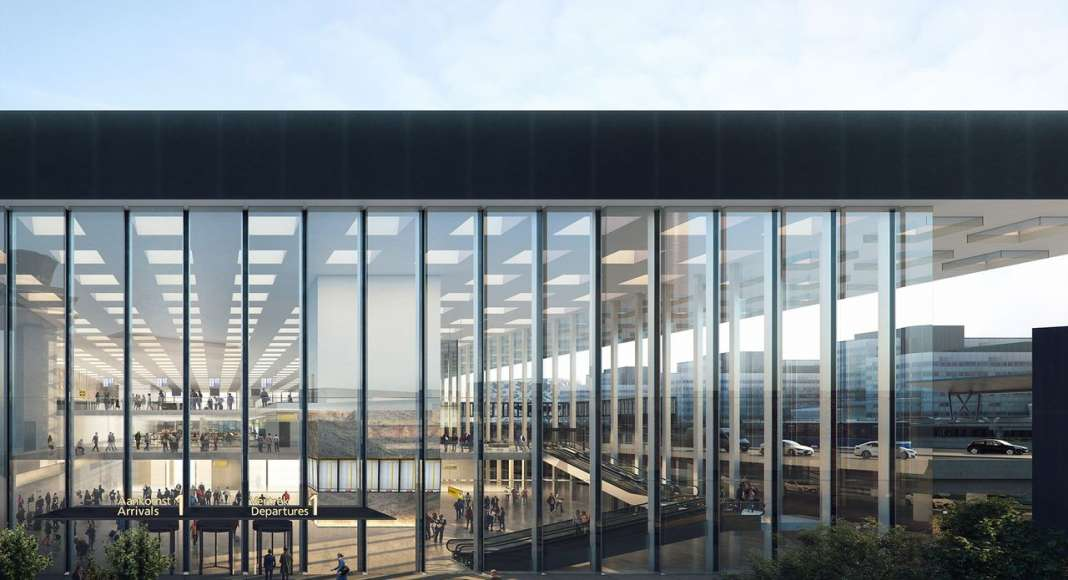 Amsterdam Airport Schiphol Terminal by KAAN Architecten : Photo © Beauty & The Bit