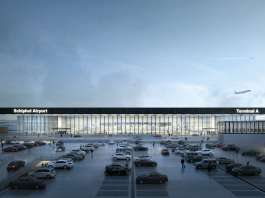 KAAN Architecten to design the new Amsterdam Airport Schiphol Terminal with international consortium KL AIR : Photo © Filippo Bolognese