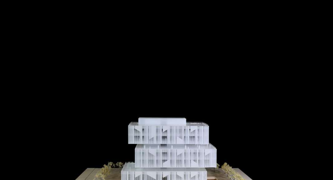 CaoHeJing Guigu Creative Headquarters Model : Photo © Schmidt Hammer Lassen Architects