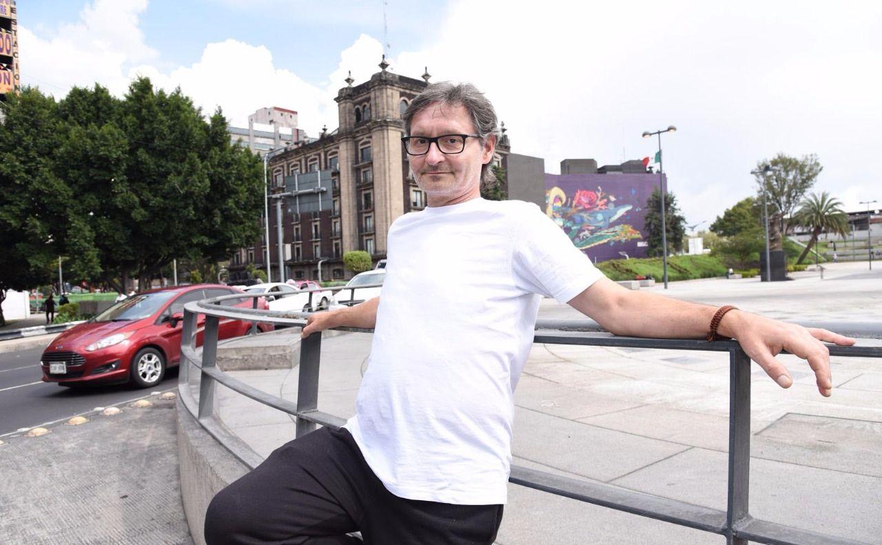 Edgar Mueller en la Ciudad de México : Fotografía © Secretaría de Cultura CDMX