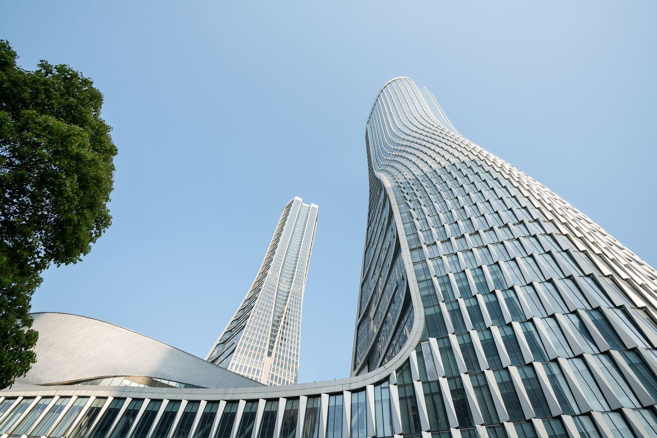 UNStudio designs Raffles City Hangzhou in China : Photo © Seth Powers