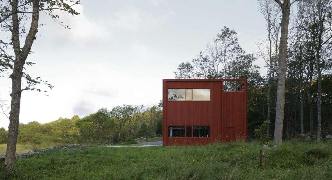 Southeast View : Photo © Bornstein Lyckefors Arkitekter