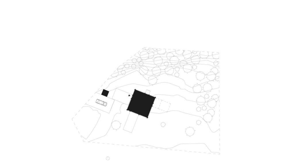 Späckhuggaren Site plan : Photo © Bornstein Lyckefors Arkitekter