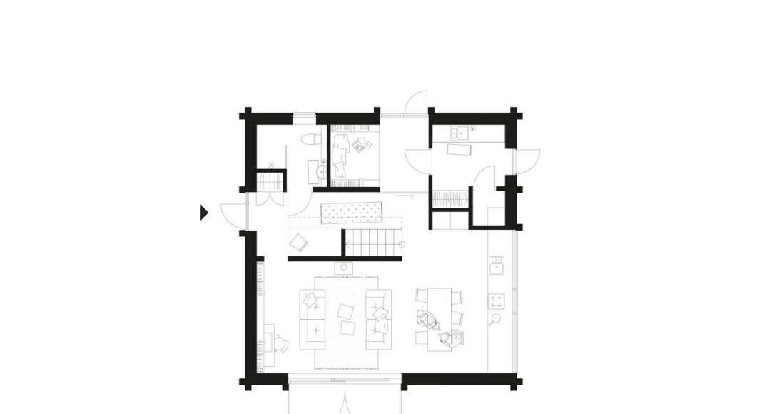 Späckhuggaren ground floor : Photo © Bornstein Lyckefors Arkitekter