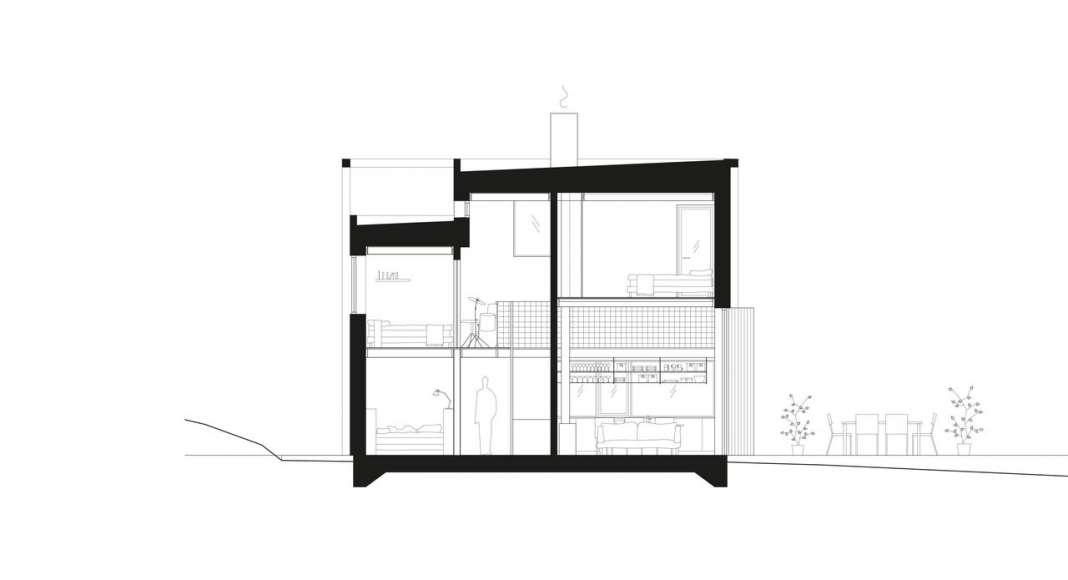 Späckhuggaren Section : Photo © Bornstein Lyckefors Arkitekter