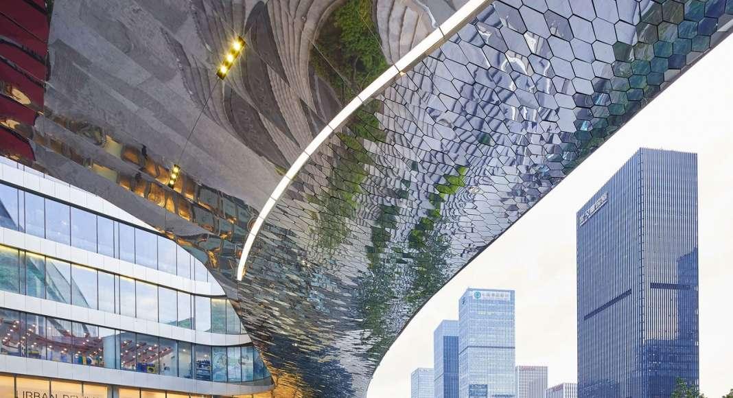 UNStudio designs Raffles City Hangzhou in China : Photo © Hufton+Crow