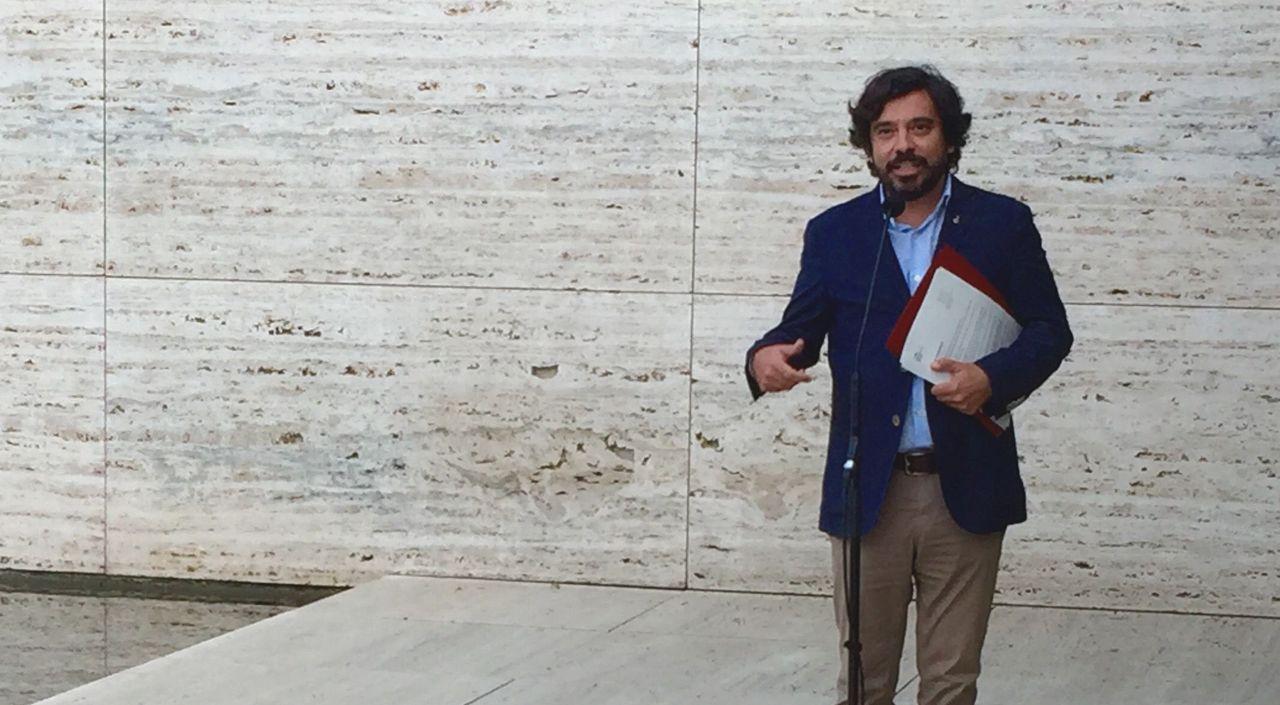 Daniel Mòdol, concejal de Arquitectura, Paisaje Urbano y Patrimonio del Ayuntamiento de Barcelona : Fotografía cortesía del © Institut Ramon Llull