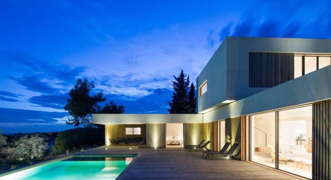 MaisonA en Aix-en-Provence, Francia diseñada por PietriArchitectes : Photo credit © Mathieu Ducros